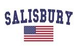 Salisbury Nc US Flag