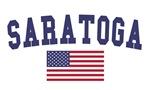 Saratoga Springs US Flag