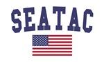 Seatac US Flag