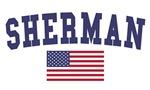 Sherman US Flag