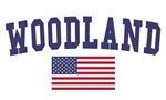 Woodland US Flag