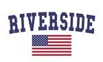 Riverside Ca US Flag
