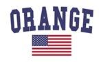 Orange US Flag