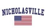 Nicholasville US Flag