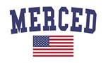 Merced US Flag