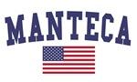 Manteca US Flag