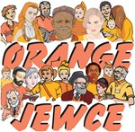 Israel People Orange Jewce