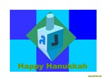 Dreidel Happy Hanukkah