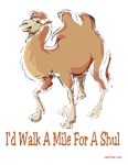 Walk a mile for a shul