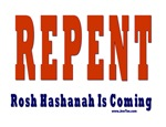 Repent Rosh Hashanah  T Shirts and Gifts