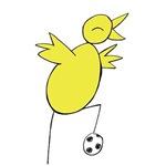 Canary Posing