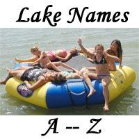 Lake Names A - Z