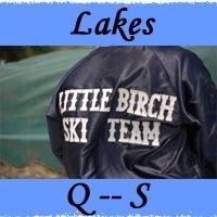 Lakes Q -- S