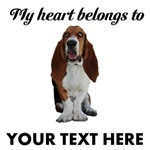 Personalized Basset Hound