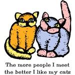 I Like My Cats T-Shirts
