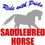 Ride With Pride Saddlebred Horse