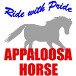 Ride With Pride Appaloosa Horse T-Shirts