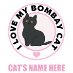 Personalized Bombay Cat T-Shirts