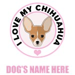 Personalized Chihuahua T-Shirts