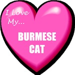Burmese Cat Lover T-Shirts