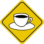 Coffee Crossing Sign