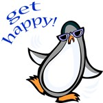 Get Happy Dancing Penguin
