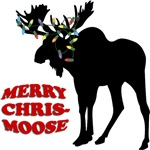 Merry Chris-Moose T-Shirts