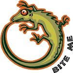 Bite Me Lizard T-Shirts