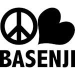 Peace Love Basenji