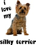 Silky Terrier T-Shirt - Love