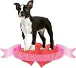 Boston Terrier Valentines T-Shirts