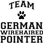 Team German Wirehaired Pointer T-Shirts