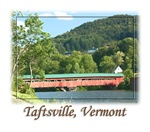 Taftsville VT Covered Bridge