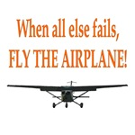 Fly the airplane!