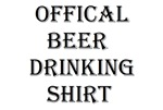 Official Beer Drinking Shirt