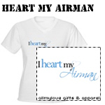 Heart My Airman T-Shirts and Gifts
