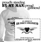 An American Air Force Girlfriend Tees and Gifts