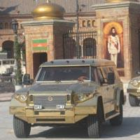 Gold Aladeen Edition Armored Vehicle
