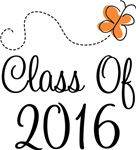 Class of 2016 Butterfly Graduate Gifts & Tees