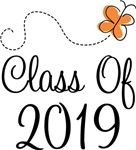 Class of 2019 Butterfly Graduate Gifts & Tees