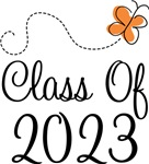 Class of 2023 Butterfly Graduate Gifts & Tees