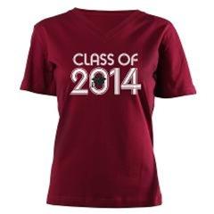 Class of 2014 Grad Hat Logo T-shirts