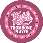 TROMBONE PLAYER (Worlds Best) T-SHIRT GIFTS