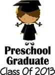 2013 Preschool Graduation Gifts and Tshirts