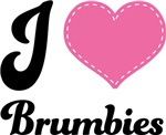 I Love Heart Brumbies