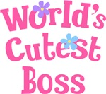 Worlds Cutest Boss Gifts and T-shirts