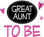 Great Aunt to Be Butterfly T-shirts and Gifts