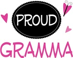 Proud Gramma Butterfly T-shirts and Gifts