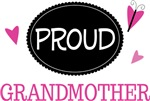 Proud Grandmother Butterfly T-shirts and Gifts