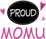 Proud Momu Butterfly T-shirts and Gifts